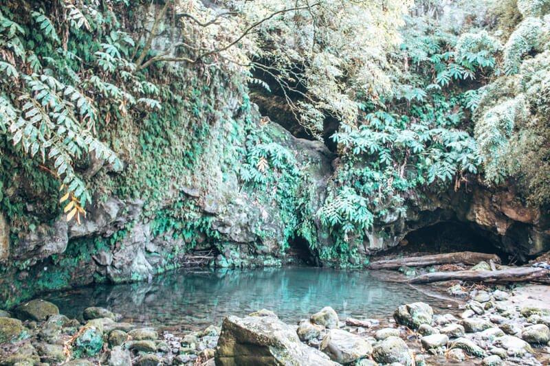 Poço Azul São Miguel Azores