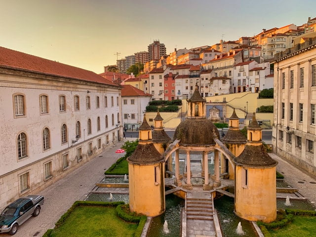 Cities in Portugal - Coimbra